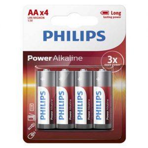Μπαταρία Αλκαλική Philips LR06 (AAA)