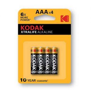 Μπαταρία Αλκαλική Kodak LR03 (AAA)