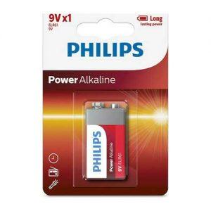 Μπαταρία Philips Power Life 6LR 9V