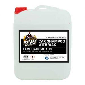Spartan Warrior Shampoo Wax 20lt
